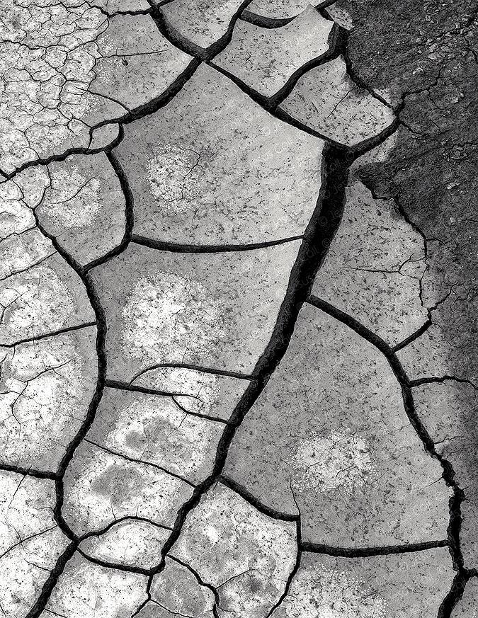 Drought Cracks, Glen Canyon, Utah, USA