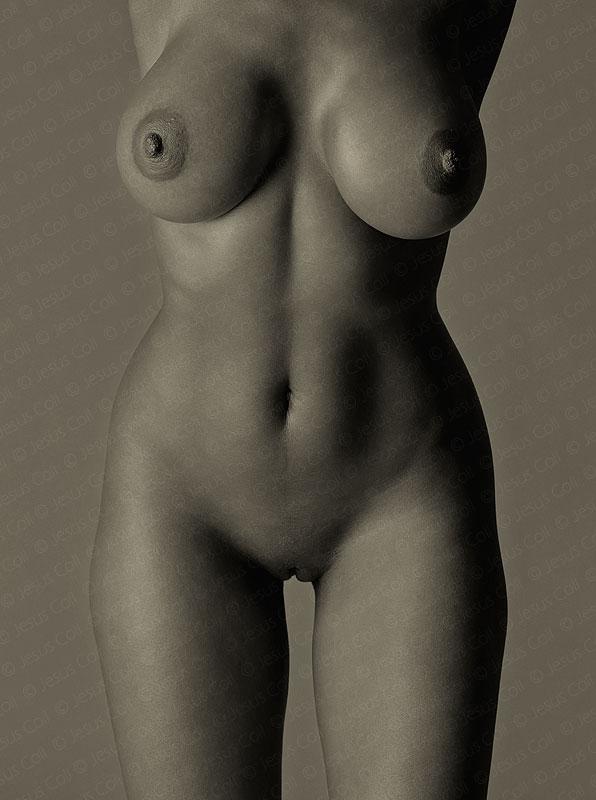 Black Body II. Fotografía Fine Art de Desnudo Artístico en Blanco y Negro de Jesús Coll