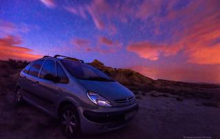 Fotografiando estrellas - Jesus Coll - Blog - Nikon 18mm f/3.5 AIS © Jesus Coll