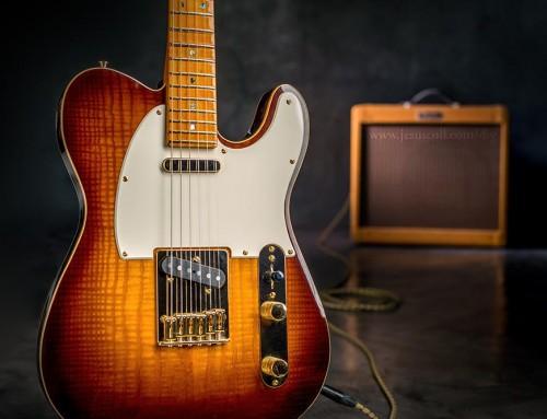 Construcción Guitarra Fender Telecaster
