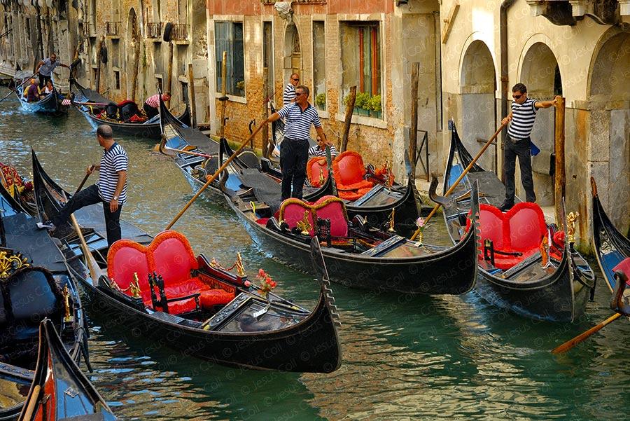 Góndolas, Venecia, Italia