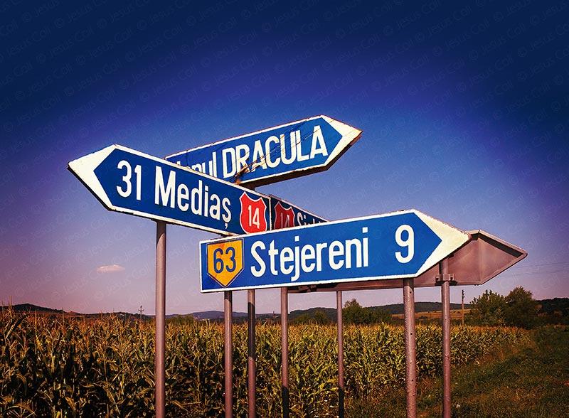 Dracula, Transilvania, Rumania