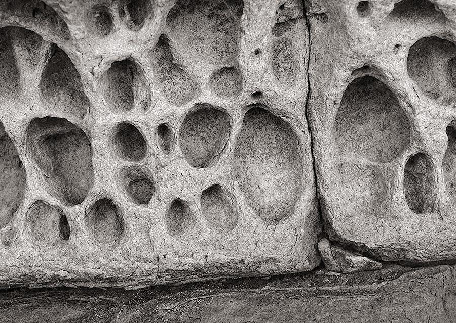 Eroded Rockstone, Isle Of Skye
